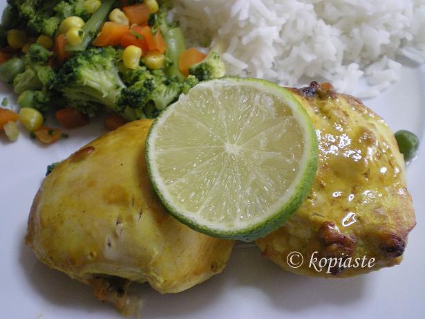 Indian style chicken