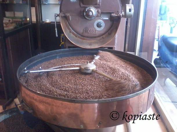 Coffee beans roasted image