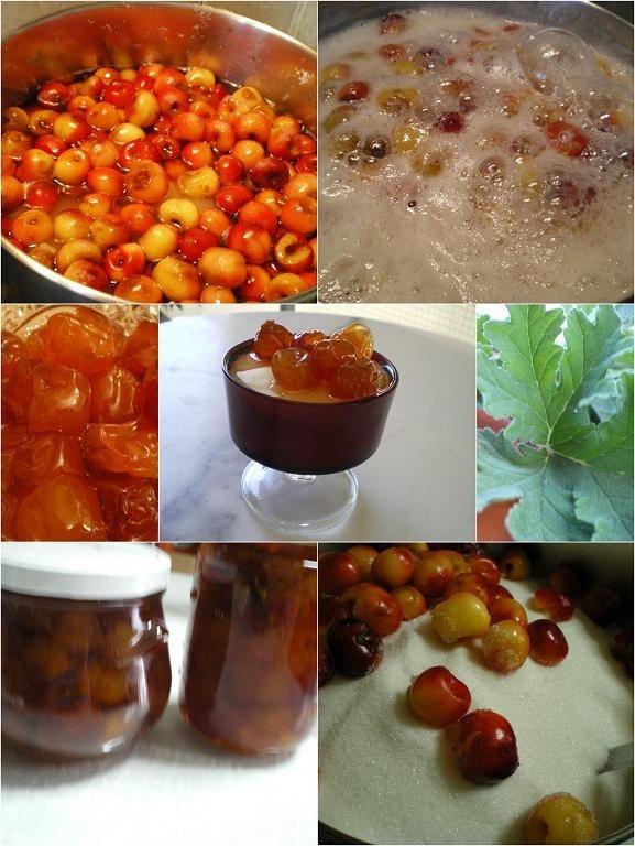 collage cherries
