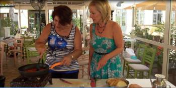 Ivy Liacopoulou - cooking with Zita Keeley