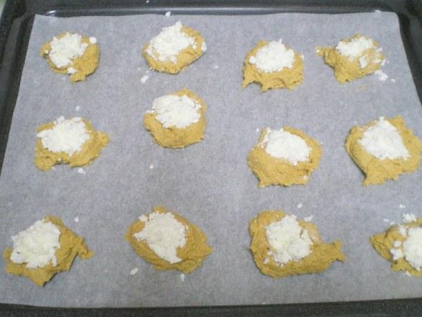 Moustokouloura with anthotyro before baking image