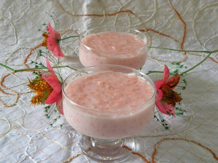 Rosotto (Pink Rice Pudding)