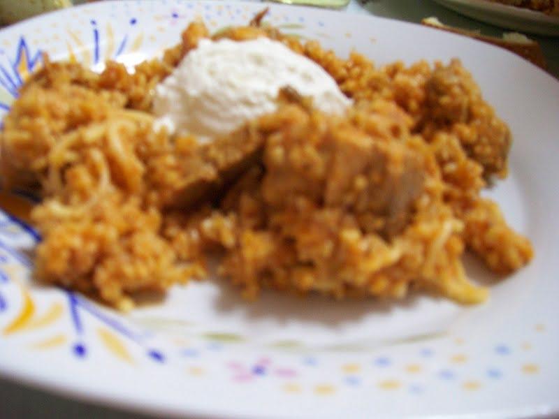 Pilafi Pligouri (pourgouri) –  Bulgur wheat pilaf with Leftovers