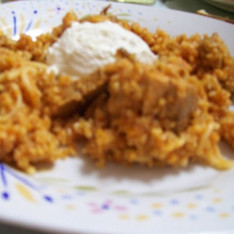 Pilafi Pligouri (pourgouri) –  Bulgur wheat pilaf with Leftovers
