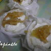 Glykia Tyropita Me Portokali (Orange Sweet Cream Cheese Pie)