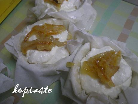 sweet cream cheese tyropita filling image