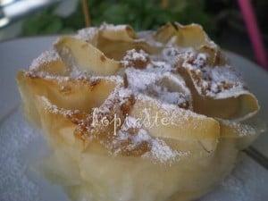 sweet cream cheese pie image