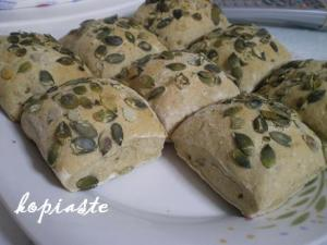 whole wheat sunflower rolls image