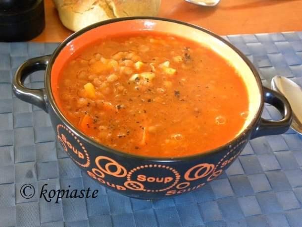 Fakes Tomato Soup