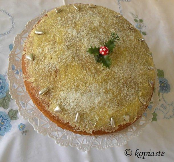 lemon buttercream vassilopita