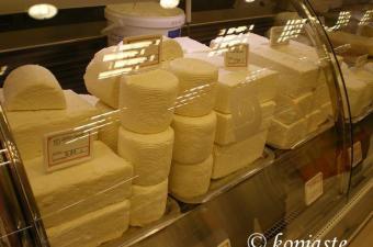 Greek cheeses photo