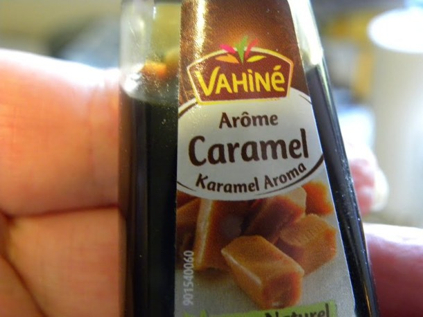 Caramel flavoured vanilla image