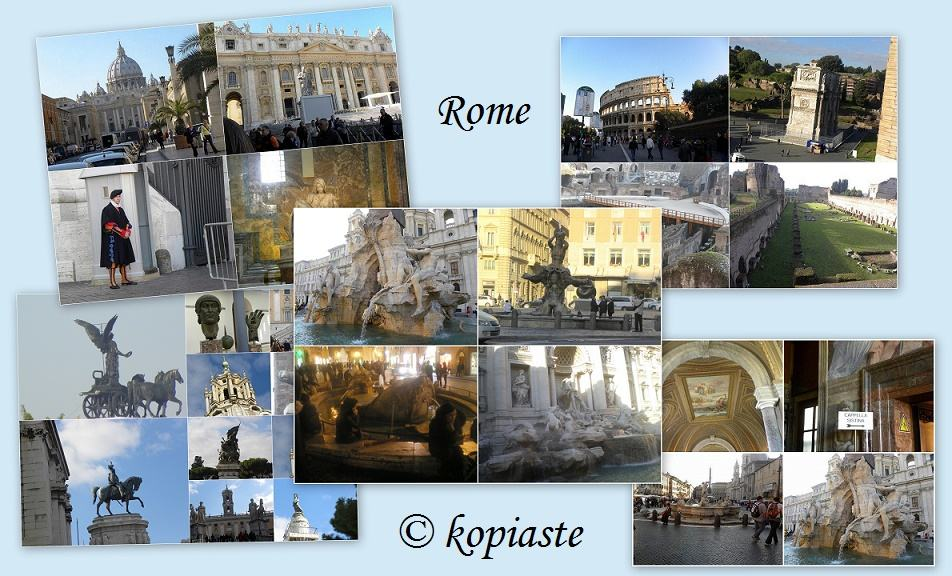 Rome collages