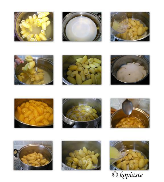 collage making citrus fruit preserve - glyko bergamot