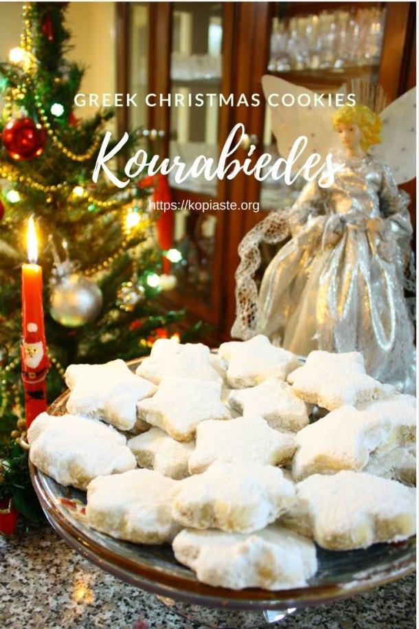 Christmas kourabiedes image