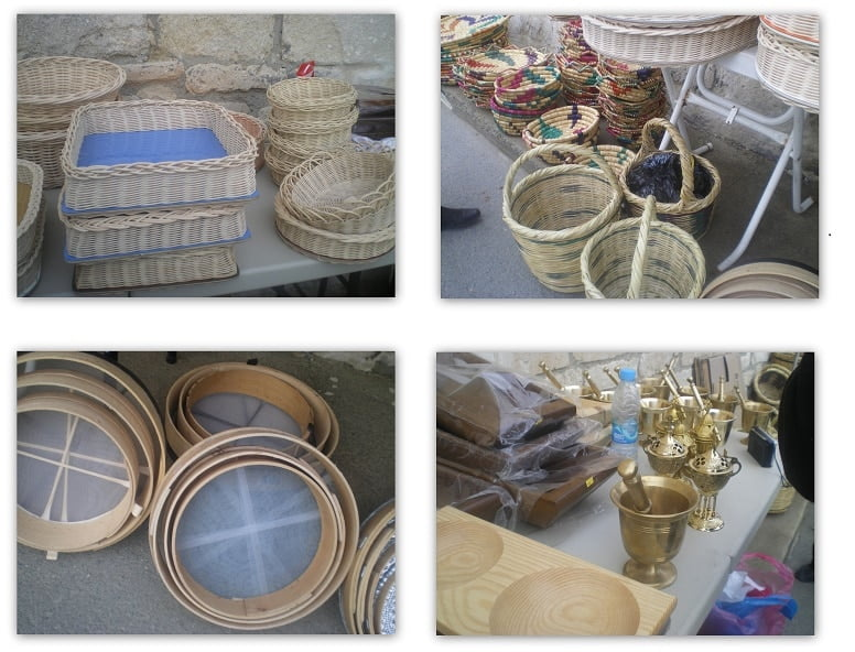collage cypriot objects