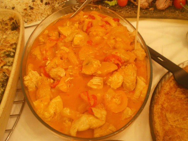 Sweet and sour turkey image