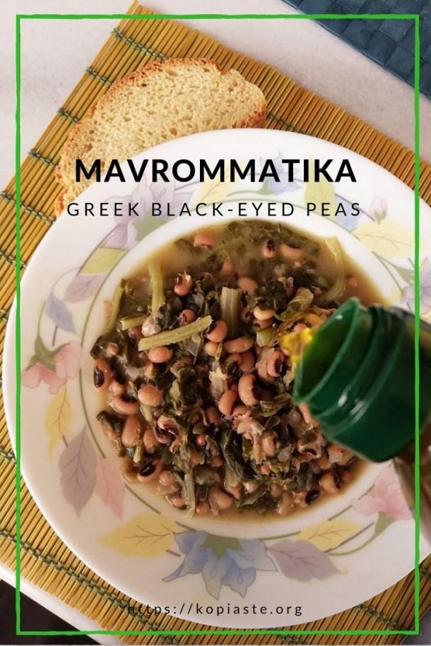 collage Mavrommatika with olive oil image