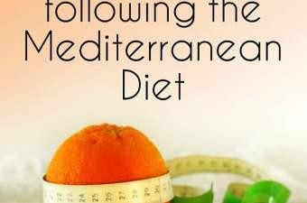 lose weight following the Mediterranean Diet