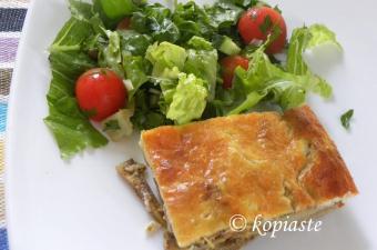 Mediterranean Vegetable Millefeuilles with Pesto