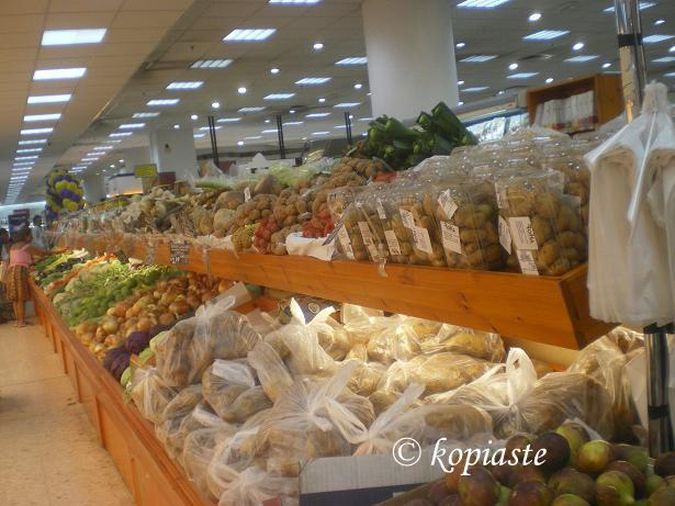 Cyprus fruit and vegetables