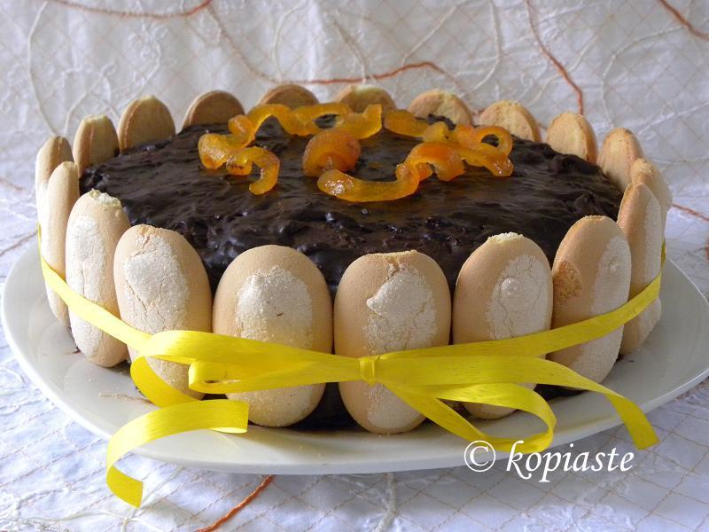 Jaffa Birthday Cake, by Ivy
