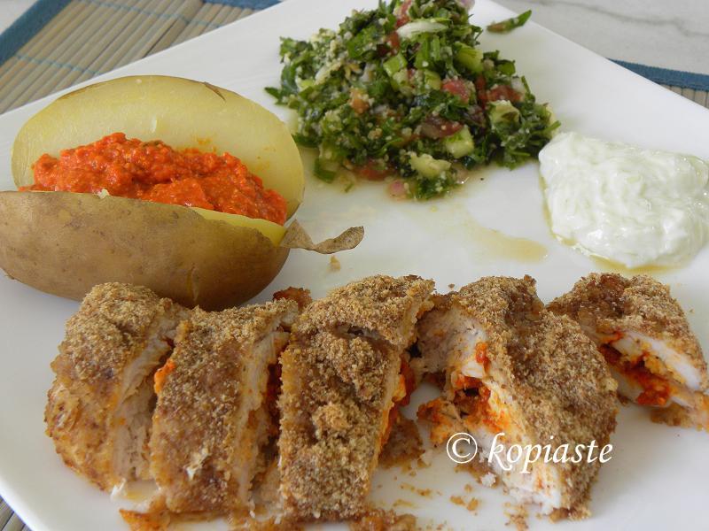 Chicken Kiev my style
