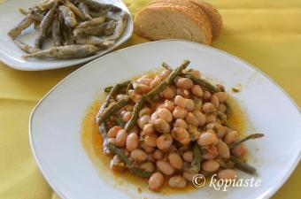 Hantres or cranberry beans image