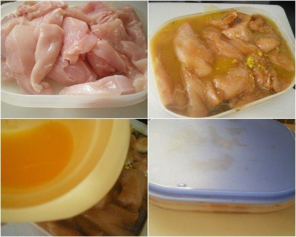 Collage Chicken Teriyaki