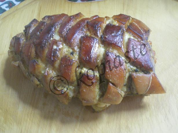 Pork Roast marked