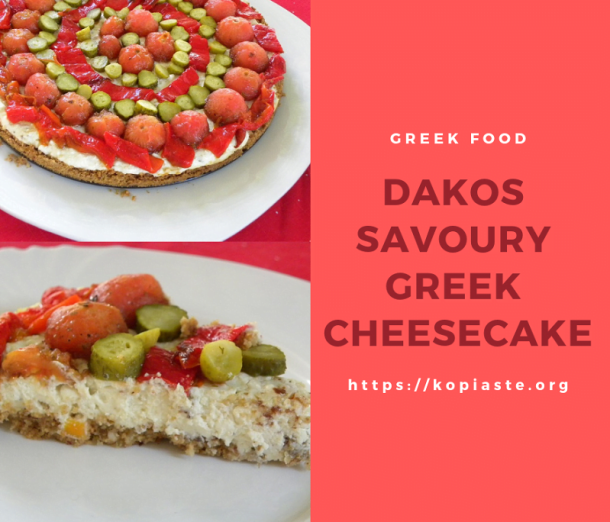 Collage Tomato Savoury Cheesecake picture