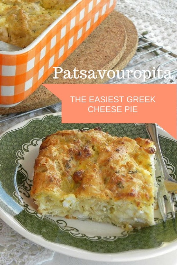 Patsavouropita easy cheesepie image