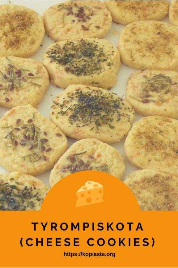 Tyrompiskota Cheese cookies image