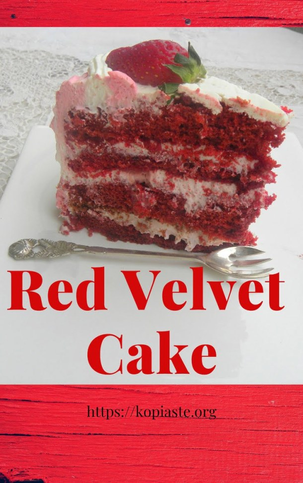 Collage Red velvet cake image