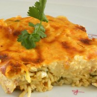 Anthotyro and Smoked Paprika Pastitsio with Eggless Bechamel