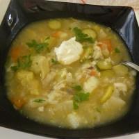 Artichoke & Celeriac Soup