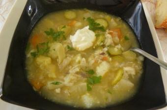 Artichoke Celeriac Soup image