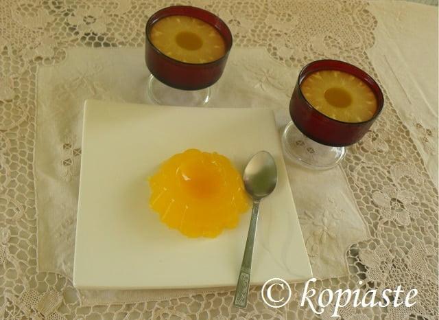 Green Tea Pineapple Jelly