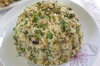 Lentil & Bulgur Salad image