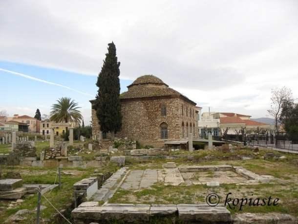 Fethiye mosque and agora