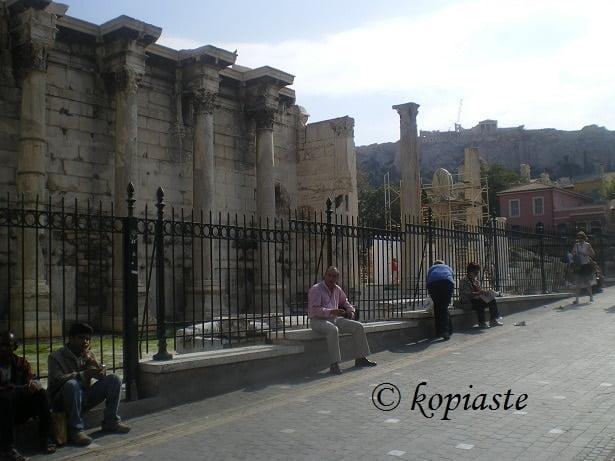 Monastiraki, Hadrian's Library