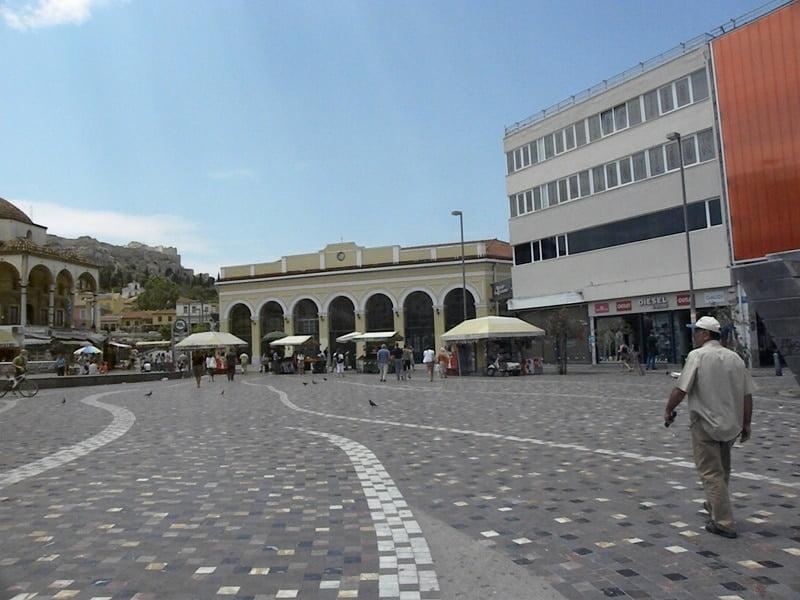 Monastiraki Metro station image