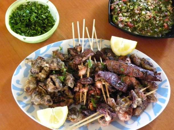 Tourkakia served image