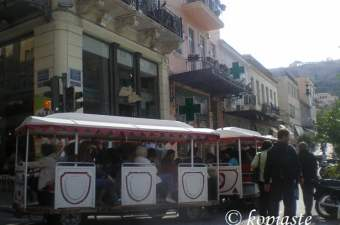 tourist train image