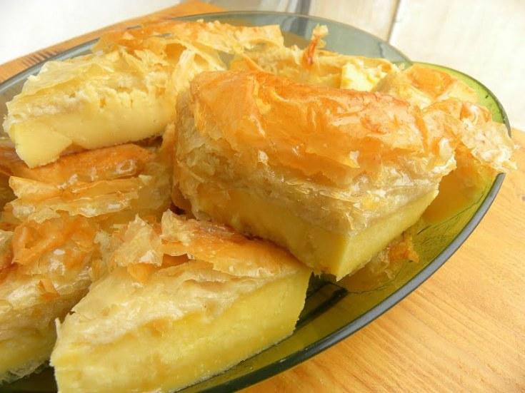 Lemon Curd Galaktoboureko