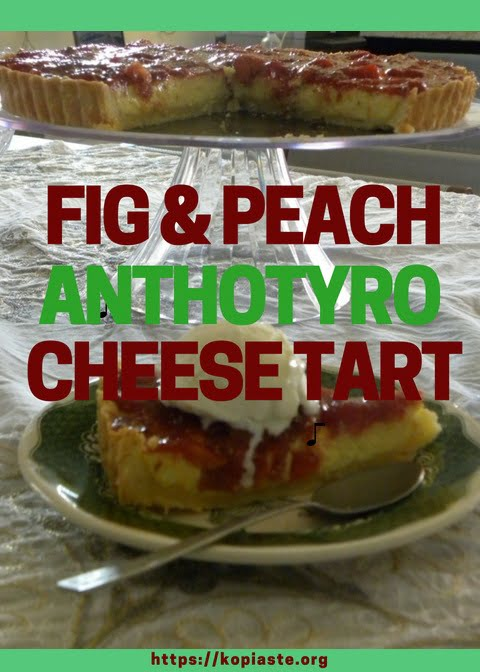 Collage eng Anthotyros tart with fig image