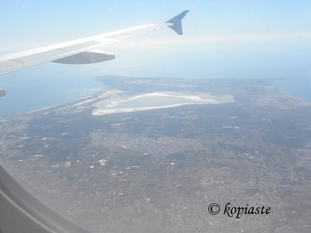 Limassol and Akrotiri from above