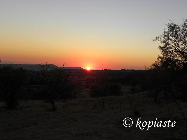 Sunset at Lophou