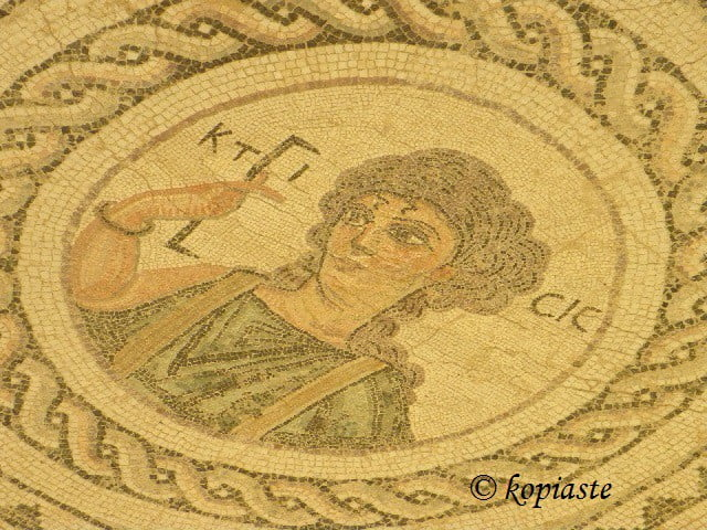 mosaic at kourion