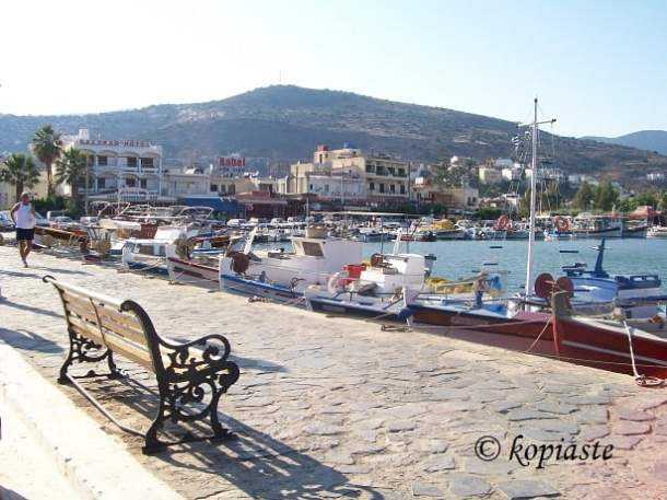 Elounda sea front